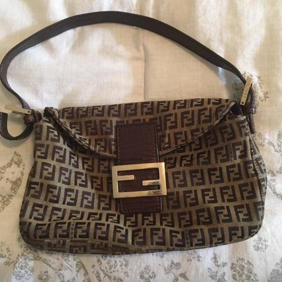 Fendi Handbags - Fendi Shoulder Bag Zucca Ladies Authentic Used 23f42aedf0ecc